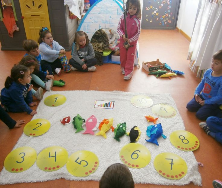 INFANTIL de GRACIA: PESCA MATEMÁTICA CUISENAIRE EN EL POLO NORTE