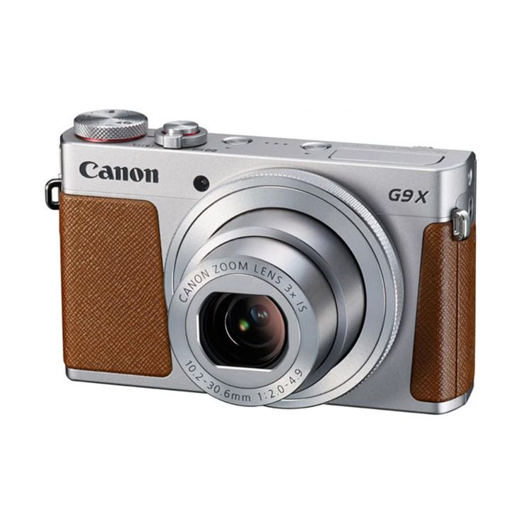 Canon compact camera G9X SILVER PACK