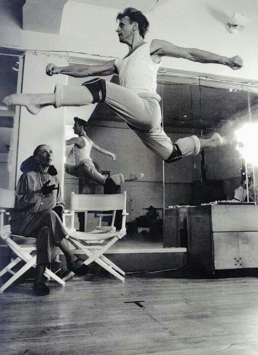 Baryshnikov and Martha Graham