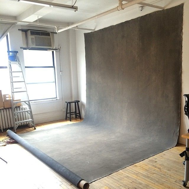 Been waiting years to have a view like this in my studio. Amazing! #oliphantbackdrop @Eilidh Rouxel-Fabre Backdrops | Flickr - Photo Sharing!