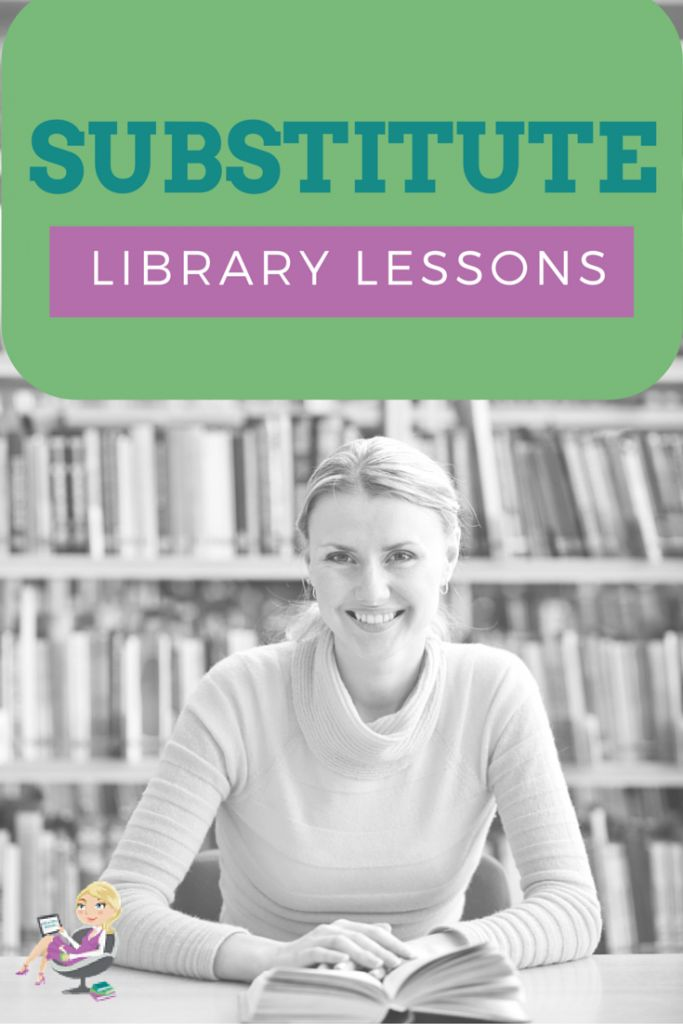 Need to miss a day of school? Never fear! Elementary Librarian is here to help. Enjoy these free substitute lesson plans for the library. https://elementarylibrarian.com/substitute-lesson-plans/