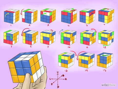Gambar berjudul Make Awesome Rubik's Cube Patterns Step 4