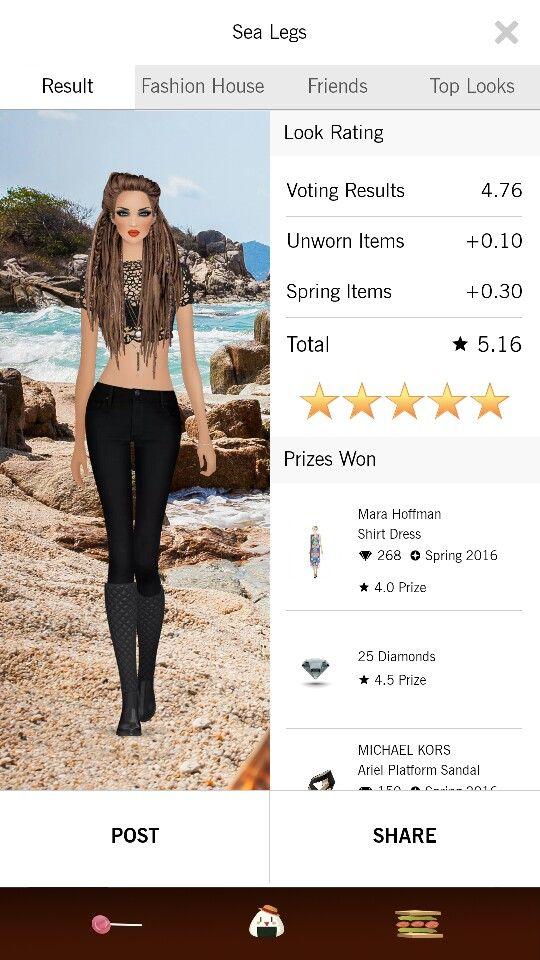 Sea Legs look on Covet Fashion.