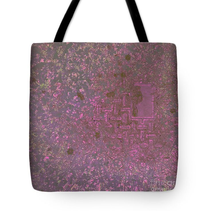 Patterns In The Lawn Tote Bag by Sverre Andreas Fekjan.  The tote bag is machine washable, available in three different sizes, and includes…