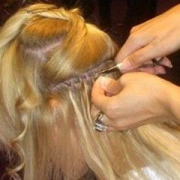 How to apply Micro-Ring Hair Extensions the easy way . . .