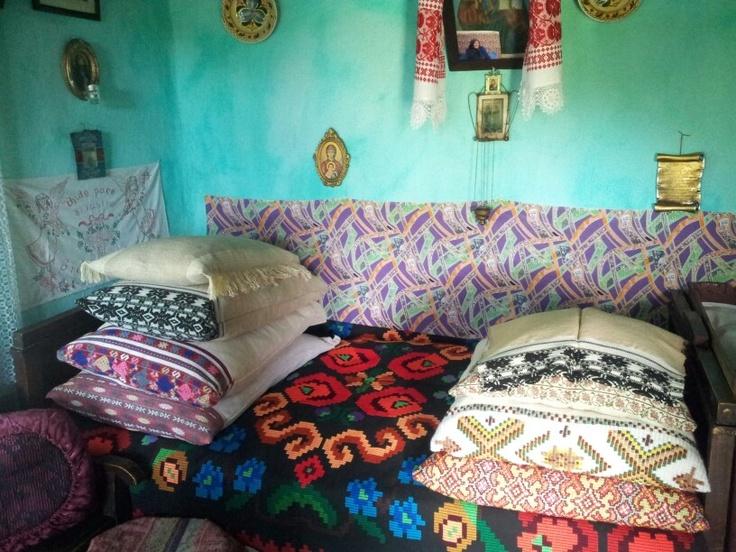 Grandmam bed.