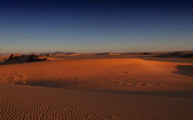 Sahara Desert Algeria Gorgeous Places Pinterest