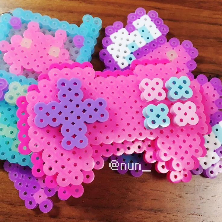 Kawaii Sushi Perler Beads Patterns