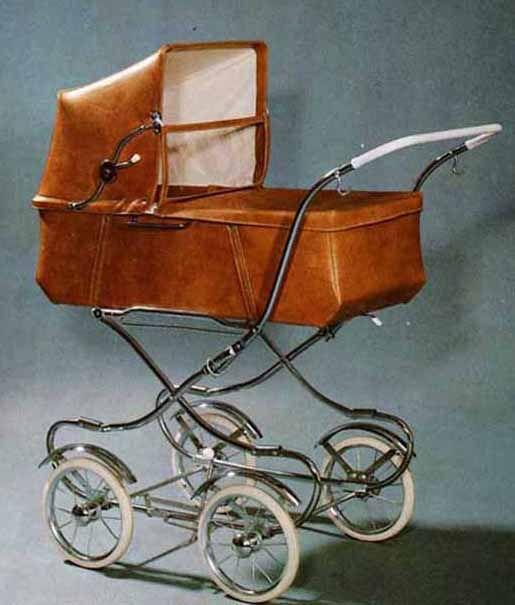 SVENSKTILLVERKADE BARNVAGNAR EMMALJUNGA 180-serien Detta är basmodellen i 1972 års produktblad. Perlon-velour eller vinyl och celluloidhandtaget är lite tunnare än på 60-talet. Små hjul, så en promenad i snömodd var nog inte så kul…