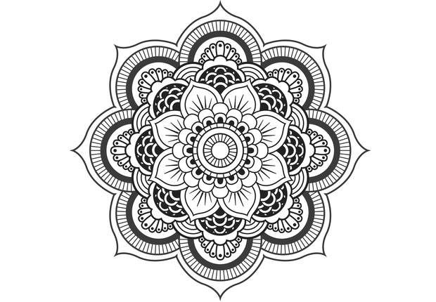 coloriage gratuit imprimer coloriage anti stress et mandala gratuits pour adulte mandalas. Black Bedroom Furniture Sets. Home Design Ideas