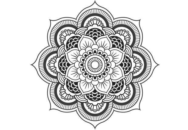 coloriage gratuit imprimer coloriage anti stress et mandala gratuits pour adulte mandalas. Black Bedroom Furniture Sets. Home Design Ideas