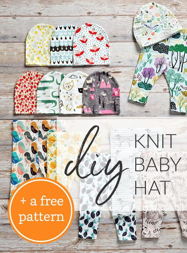 Stitch Up A Quick And Easy Knit Baby Hat A Free Pattern They