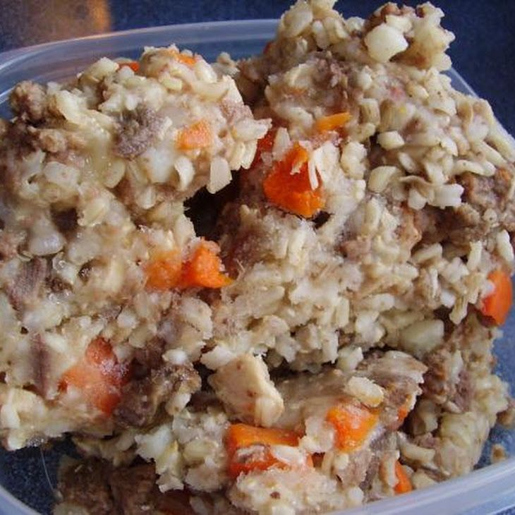 Potatoes Brown Rice Carrots Amp Chicken Broth Baby Dog