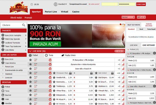 Articole Pariuri sportive pe PariuriX.com: Vrei să joci la Maxbet online? Citește aici cu mare atenție!