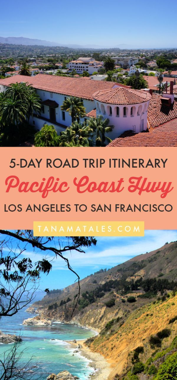 5-Day Pacific Coast Highway Itinerary