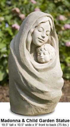 garden sculpture madonna - Google-søgning