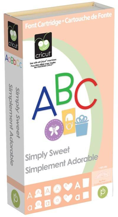 Cricut Simply Sweet