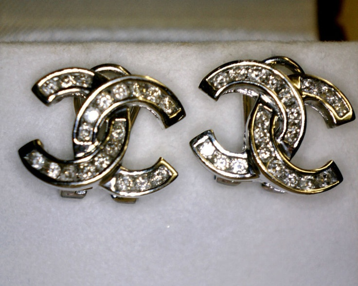 Coco Chanel Double C Earrings Coco Chanel Double C