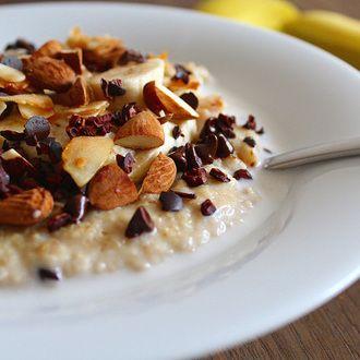 Porridge banane et cacao