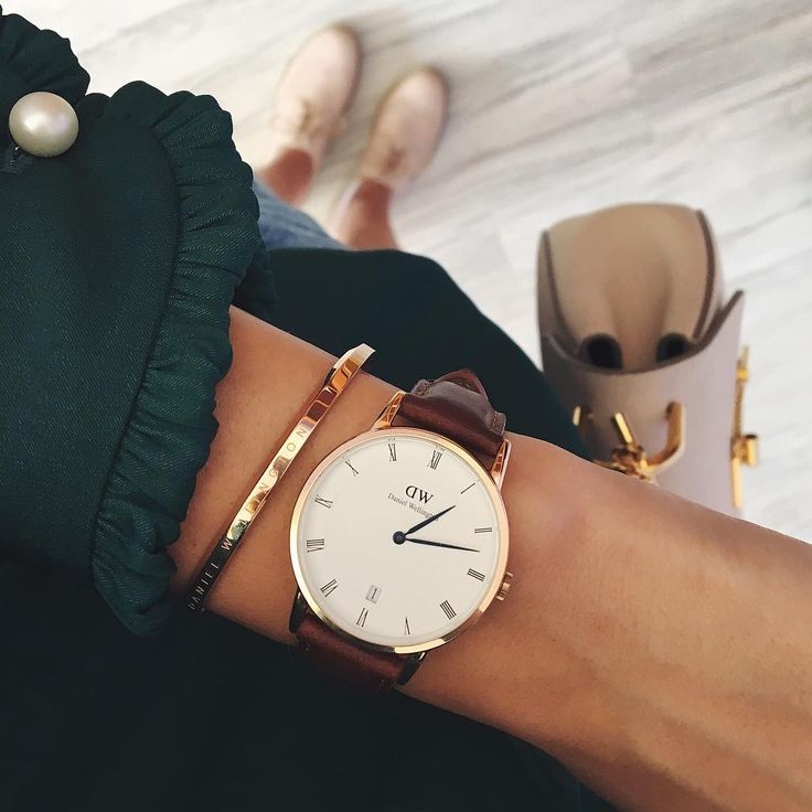 "(Photo via IG: fashionisminepassion)  Use code ""MYAN15"" to get 15% off and treat yo'self when you order on www.danielwellington.com."