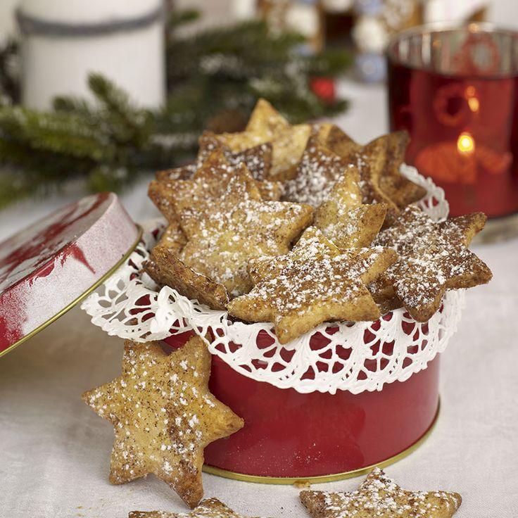 Kanel och florsocker är de goda kakorna garnerade med. Foto Thomas Hjertén
