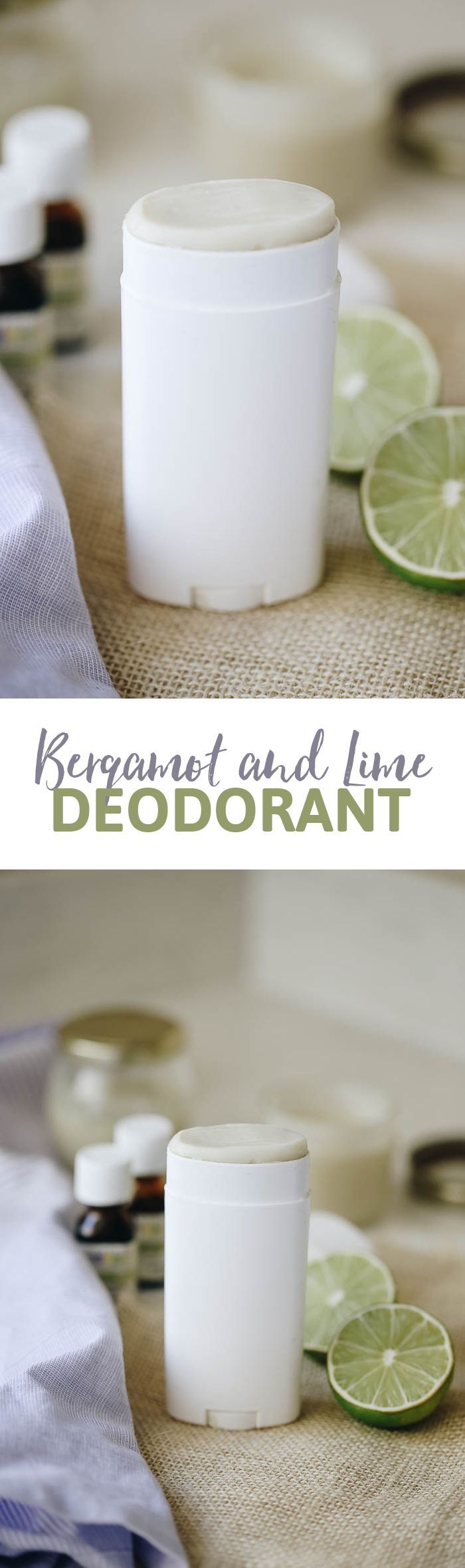 Have you always wanted to try making your own natural deodorant but have been scared to try it out? This DIY recipe for Bergamot and Lime Deodorant is made from non-toxic ingredients, smells amazing and actually works! Learn how to make it here.