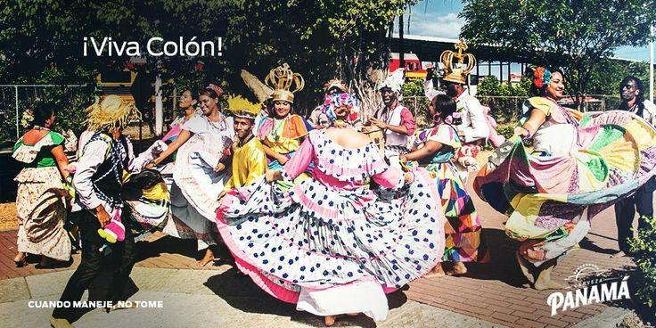 Viva Colón... tercera provincia de Panamá. 5 de noviembre #CervezaPanama #VivaPanama #C3 #Panama