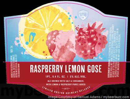 mybeerbuzz.com - Bringing Good Beers & Good People Together...: Samuel Adams Adding Raspberry Lemon Gose Bottles
