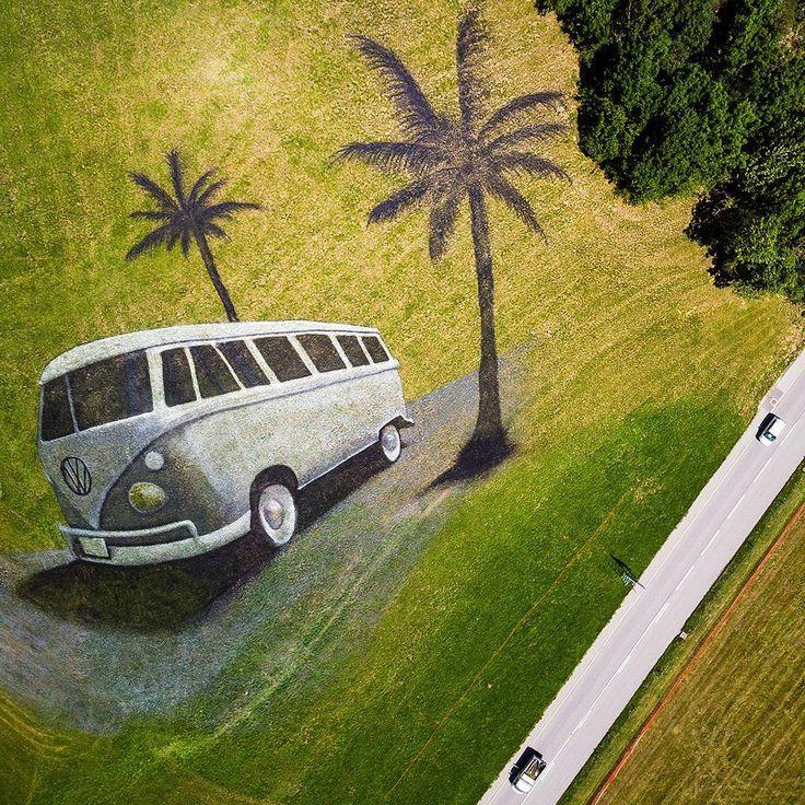 Хиппи–мобиль на траве – IMG! Картинки из интернета