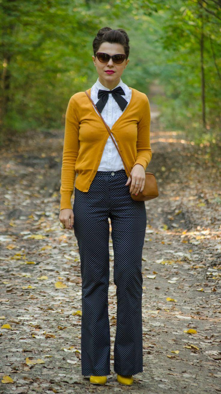 autumn preppy outfit