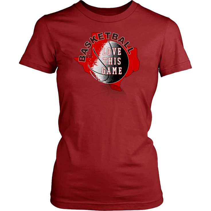 Texas Tech Basketball Love This Game Women's T-Shirt Classic Fit
