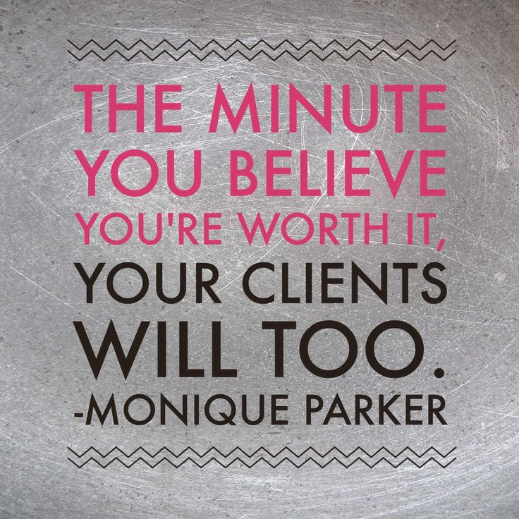 Wise words from Monique Parker, speaker at the Feeling Fearless in Business Event on August 22nd.