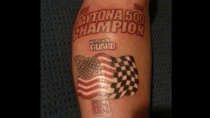 NASCAR Illustrated: One fan's Earnhardt ink   NASCAR.com