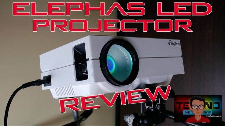 This is the Elephas EPR-60 LED Projector and it's truly the best projector you can buy at this price. The screen quality isn't anything amazing but what do you expect for this price. The screen is actually decent at 480P resolution and you can easily watch movies on it with comfort and ease. The projector is very simple to use and because it has a VGA HDMI and AV port you can connect it to almost anything. Connect a Playstation 1 or even a PS4 connect a Wii Connect a PC or laptop or even…