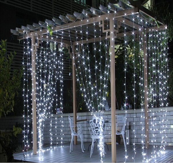 4.5M x 3M New Year LED Christmas Lights Garlands Led String Fairy Light LED Wedding Decoration Curtain Lights For Holiday Party-in LED String from Lights & Lighting on Aliexpress.com | Alibaba Group