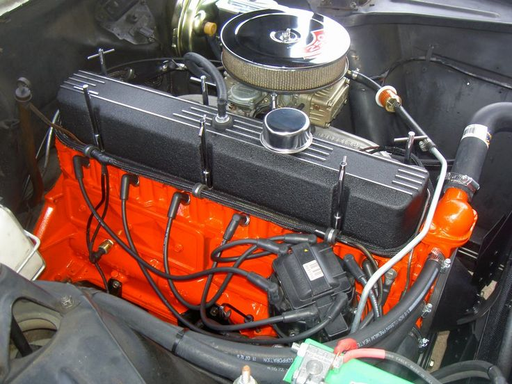 Trickedout Chevy six cylinder engines  1965 C10 PANEL