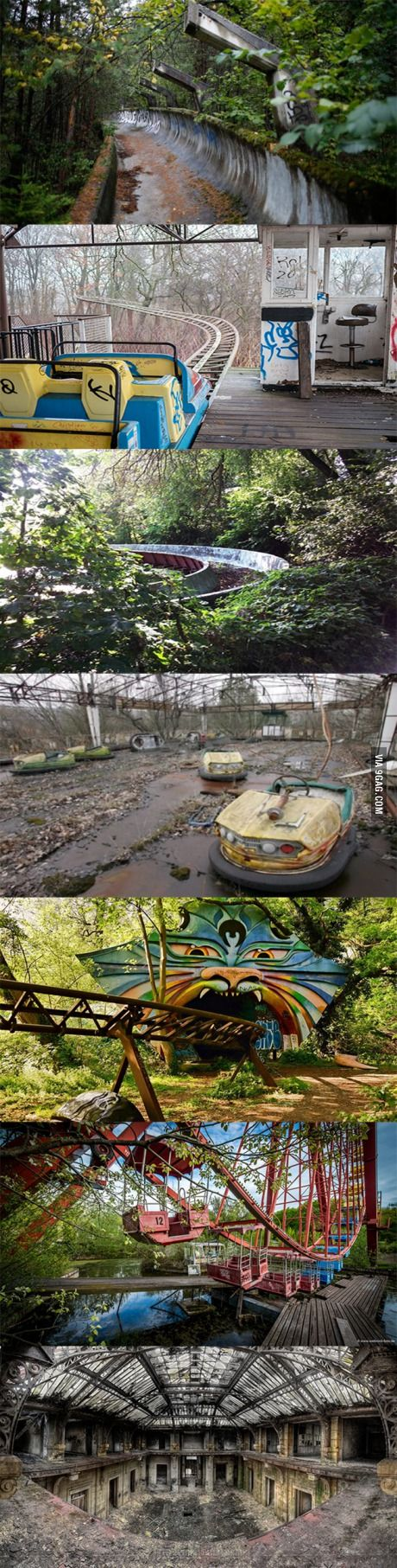 X Out Image >> I found out that there is an abandoned amusement park in Berlin. After visiting I need to say it ...