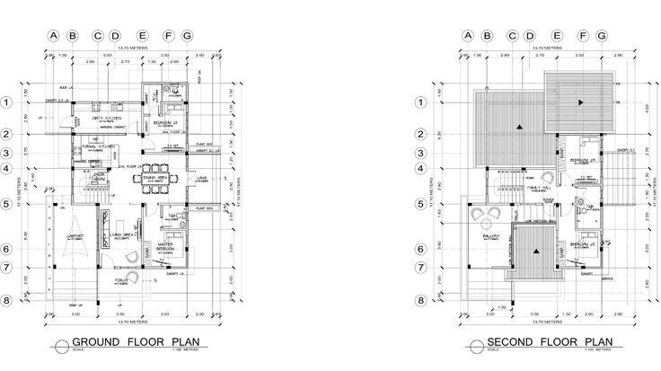 Modern Zen House Floor Plan Modern Zen House