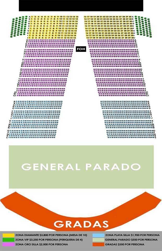 Boletos para el concierto de Juan Gabriel en Xalapa. 24 de julio de 2015 en el Estadio Colón de Xalapa, Veracruz