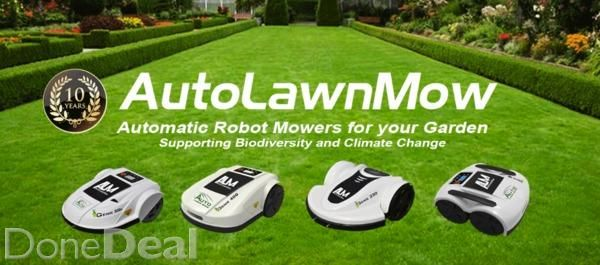 Automatic Lawn Mowers are now cheaper than a ride on tractor mower.AutoLawnMow is offering unbeatable value in automatic robotic garden lawnmowers for 2016. Full two Year warranty, giving you peace of mind after you have purchased.Full after sales and servicing with door to door collection and delivery available Nationwide.If you have any lawn size up to 1/2 an acre then say goodbye to the ride on tractor lawn mower, or self drive walk behind lawnmower, and replace it with an automatic lawn…