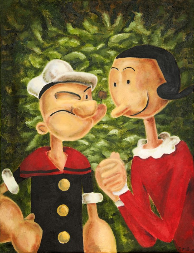 214 best POPEYES & OLIVE OYL images on Pinterest | Olive ... Popeye The Sailor Man And His Wife