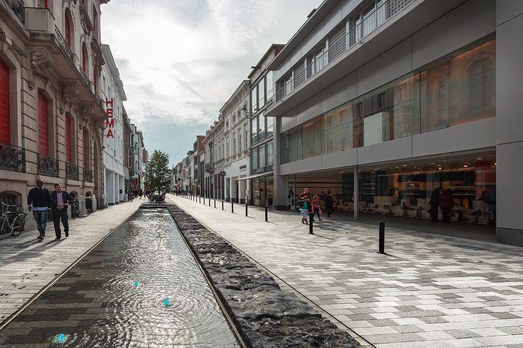 Stationsstraat Belgium by Grontmij