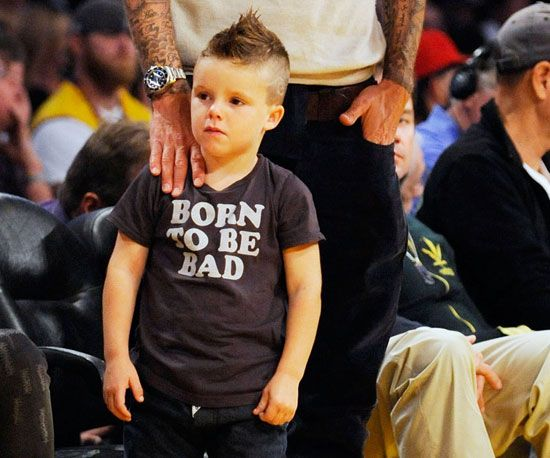 yes my kid will have a mohawk