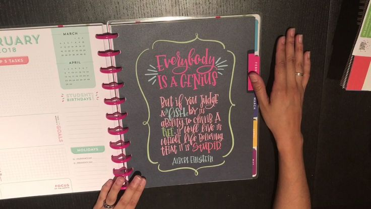 New 2017-2018 Happy Planner Teacher Edition and Teacher Accessory Pack