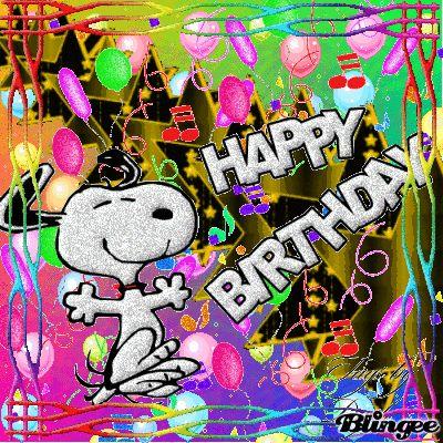 Happy Birthday--snoopy