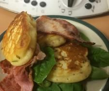 Recipe Ricotta Fritters with Crisp Bacon | Mother's Day Thermomix Recipes