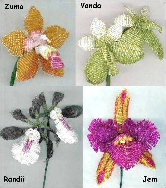 Grátis Beading Flower Patterns - Revolução Artesanato - diretorio Artesanato