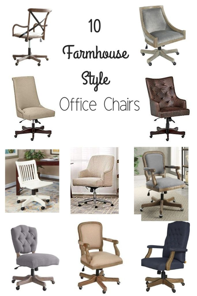 Office Chairs Are Important Part Of Any Office Finding The Right One Is Just As Important Farmhouse Office Chairs Office Chair Design Farmhouse Office Decor