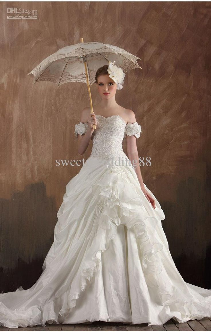 Popular victorian wedding dresses buy cheap victorian wedding - Victorian Wedding Dresses Pictures Made Flower Bandage Victorian Ball Gown Bling Bling