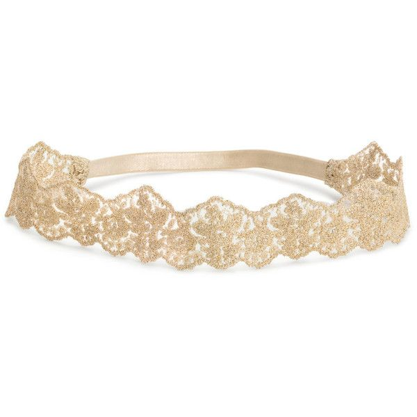 Lace Hairband $5.99 ($5.99) ❤ liked on Polyvore featuring accessories, hair accessories, lace hair accessories, hair band headband, elastic headbands, lace headwrap and hair bands accessories